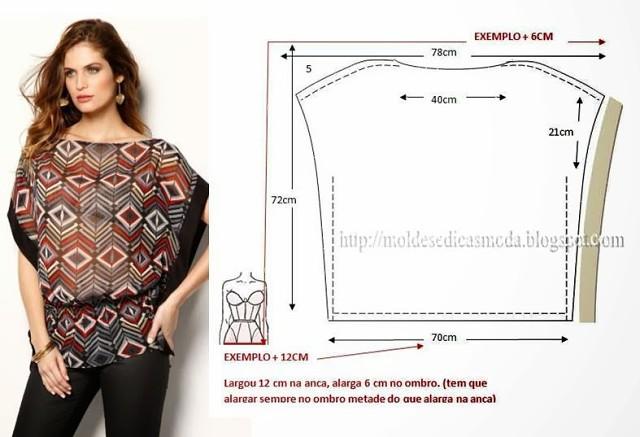 Выкройка приталенной блузки с коротким рукавом фото 558