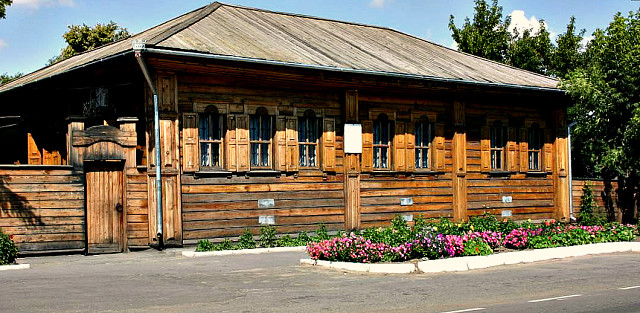 Дом декабриста Муравьева-Апостола в г. Ялуторовске