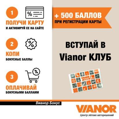 97f481d51c75d Программа лояльности Vianor КЛУБ 10-10-10