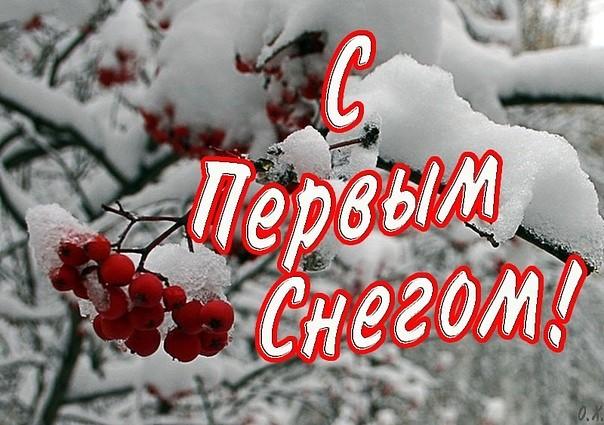 Юбилеем маму, картинки прикольные с первым снегом