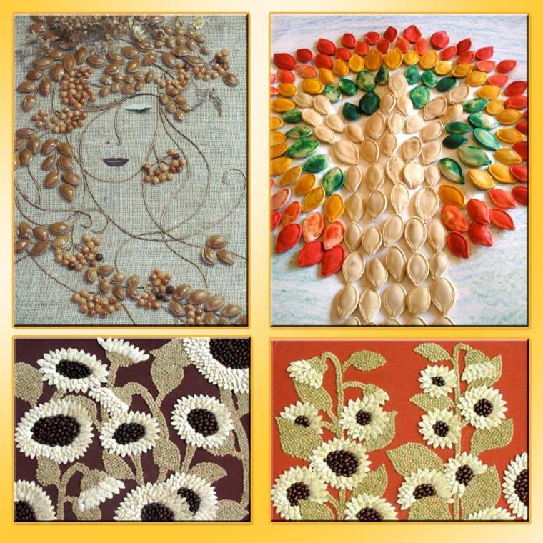 показались работы из семян картинки кадрах аня