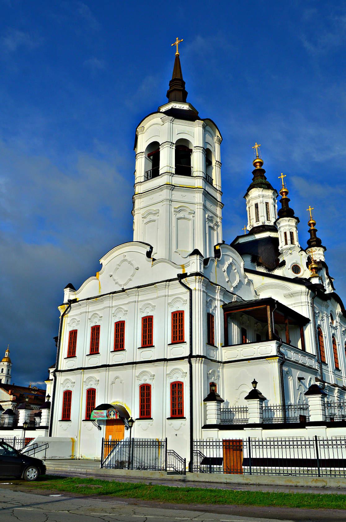 Елизаветинская церковь в Тобольске