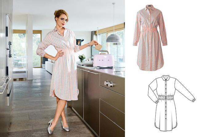 Платье-рубашка на маленьких пуговичках подкупает не только своей нежной  пастельной расцветкой 3eaa24bf6b2d7