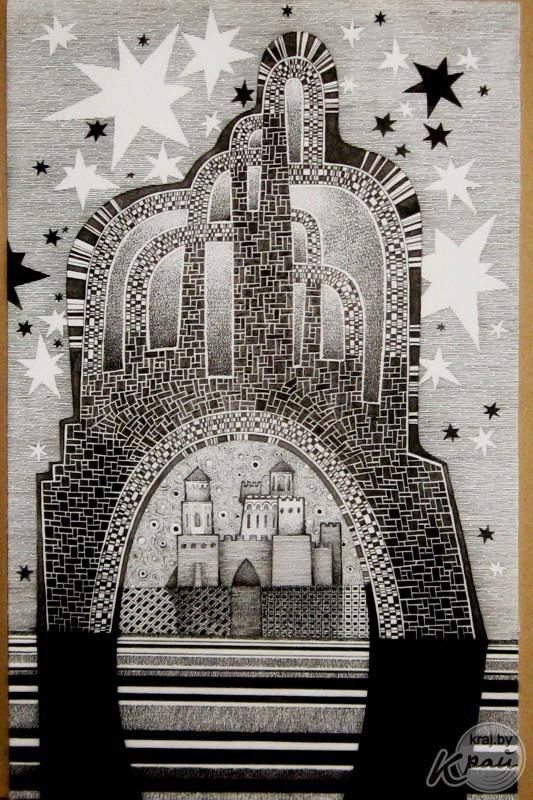 Работа Анатолия Акулика, художника из г. Молодечно, Беларусь