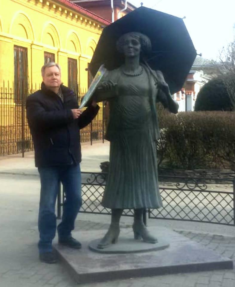 От Таганрога  - всех женщин с праздником!