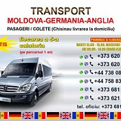 Transport Moldova-Anglia