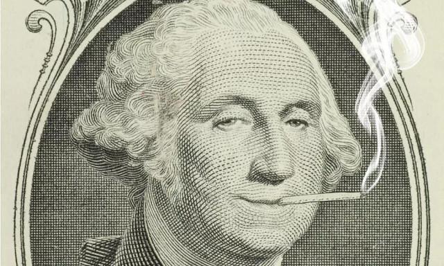 Джордж вашингтон выращивал марихуану в саду жук конопля
