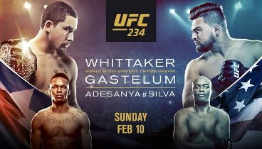 UFC 234: Israel Adesanya vs. Anderson Silva - Online video