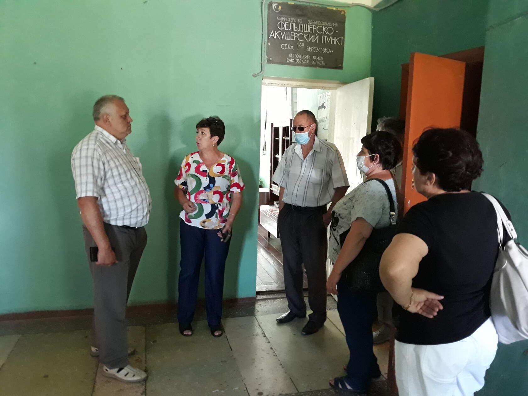 Депутаты городского Совета и районного Собрания отчитались перед жителями села 1-я Берёзовка