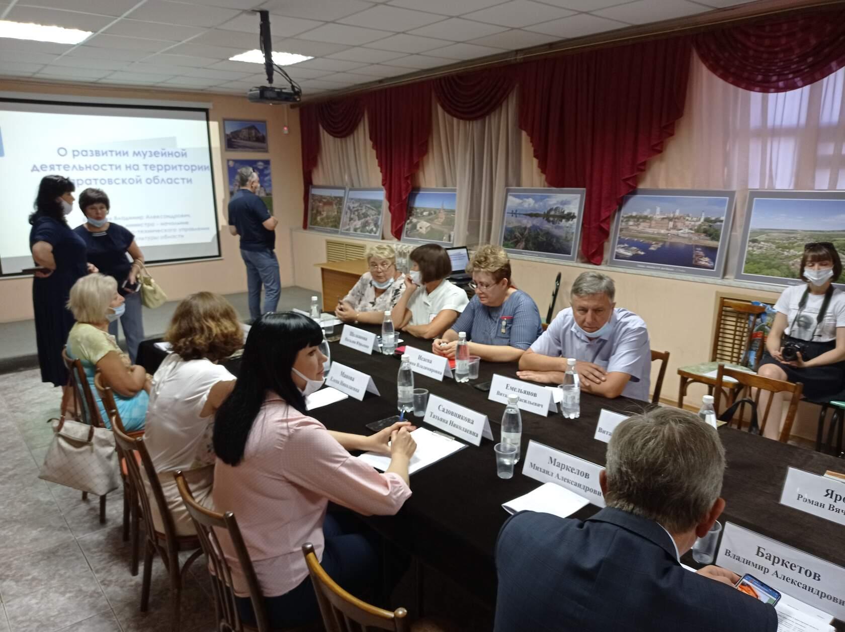 Петровчане приняли участие в заседании комитета областной Думы по культуре, общественным отношениям и информационной политике