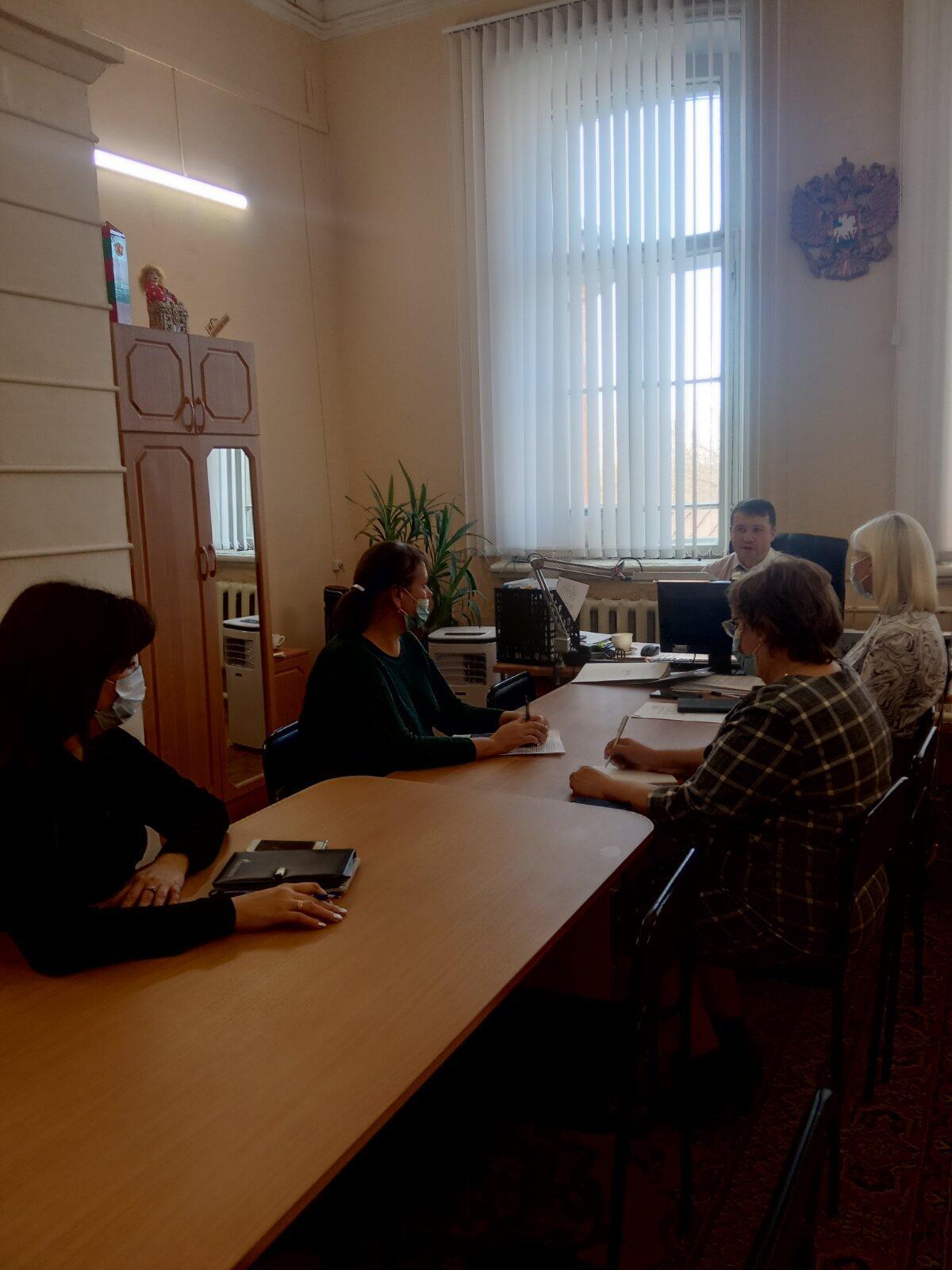 Состоялось очередное заседание комиссии по организации мероприятий, направленных на снижение неформальной занятости