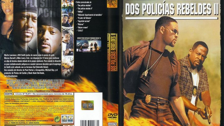 Dos Policías Rebeldes Ii 2003 Español
