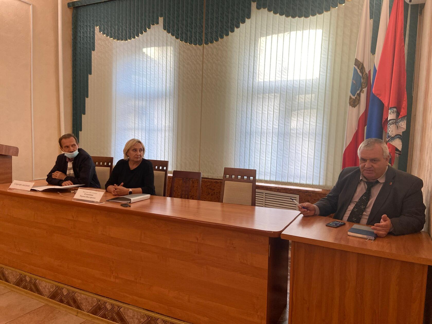 Состоялось внеочередное заседание депутатов городского Совета
