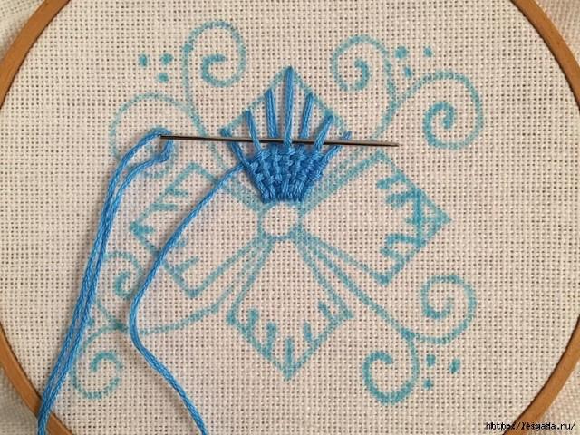 俄网的刺绣基础教程(V): 如何做编织针(大师班) - maomao - 我随心动