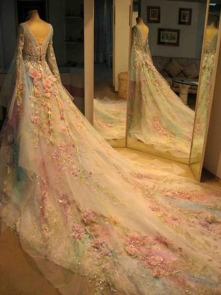 """神奇的丝带——""""刺绣的晚礼服"""" - maomao - 我随心动"""