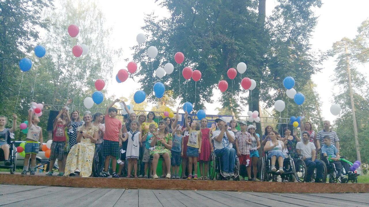 благотворительный концерт в городе Выкса, организованный ВОМИ «Эдельвейс»