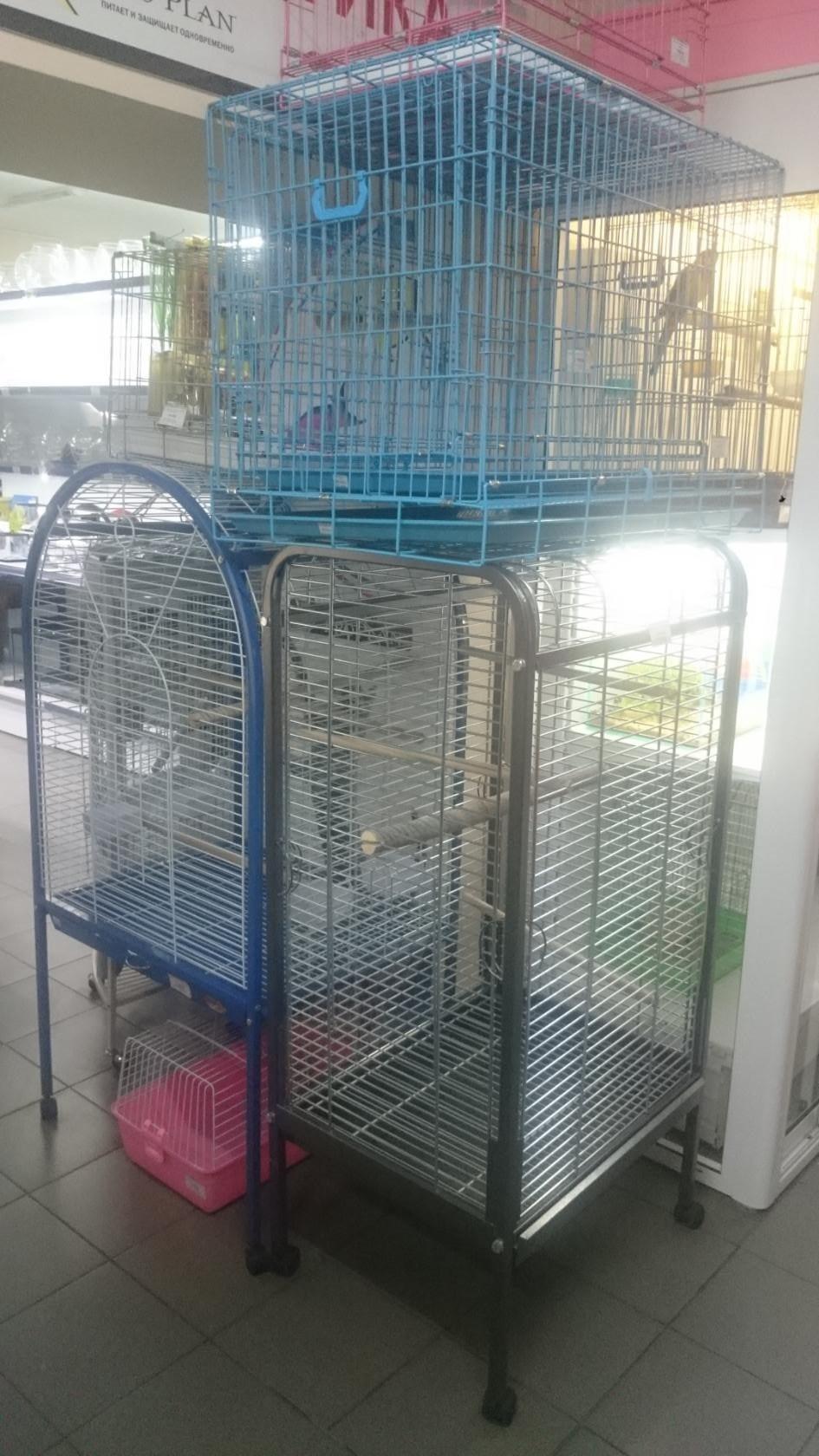 Большие клетки для птиц