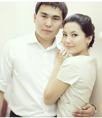 Image result for Эрмек Нурбаев с женой