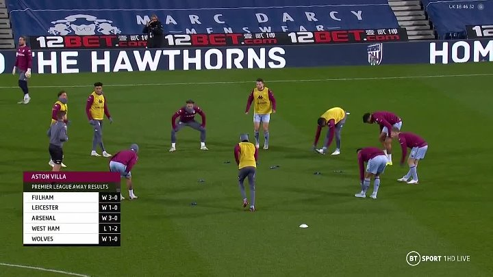 West Bromwich Albion vs Aston Villa –  & Full Match